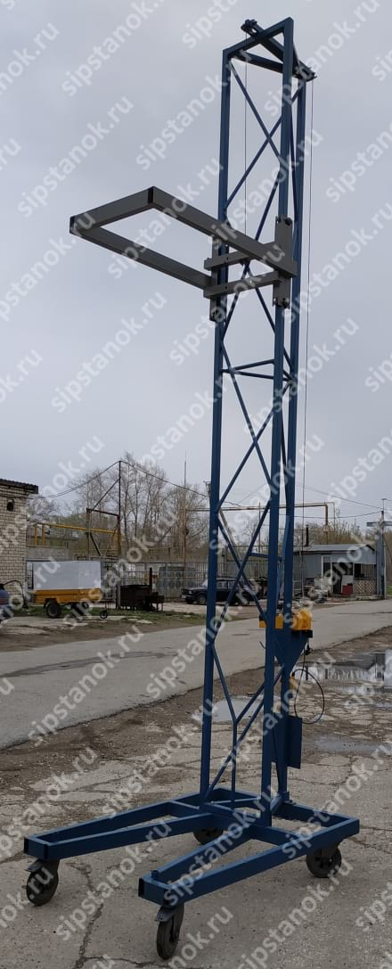 Кран строительный мобильный для СИП-панелей фото