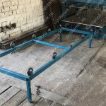 Приемный стол для СИП-панелей фото1