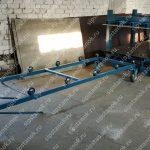 Полуавтоматическая пресс-линия для производства СИП-панелей