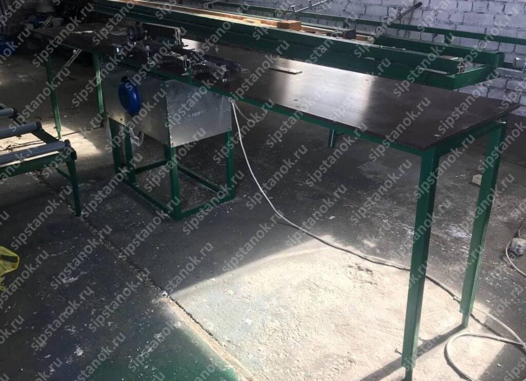 Фрезерный станок для производства деревянных двутавровых балок фото